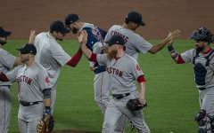 "Red Sox ""swing"" their way past Dodgers, win 9th World Series"