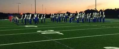Band marches toward greatness