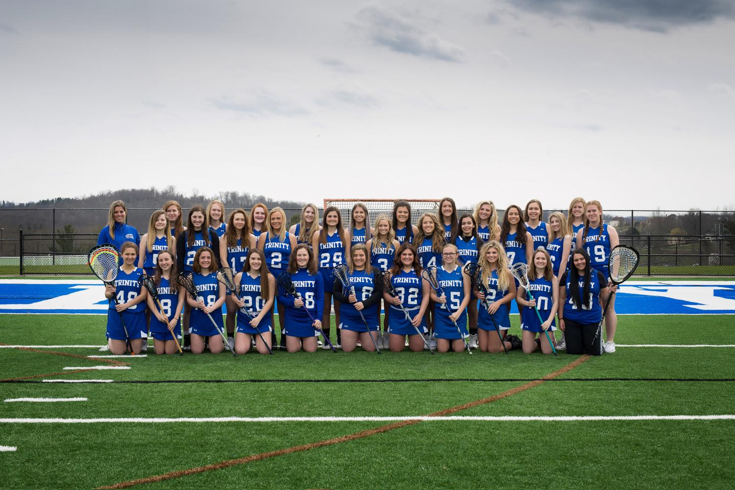 The girls lacrosse team, despite losing a lot of seniors, looks to make it to the playoffs this season.