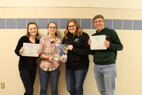 The American Scholastic Press Association (ASPA) has just awarded the Trinity High School Literary Journal, for the first time ever, the First Place with Special Merit Award.  The Literary Journal was also singled out at the Most Outstanding High School Literary Journal for 2019 by the ASPA.