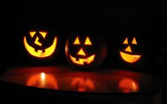 Make sure to stay safe this Halloween. Fun Fact: Jack O'Lanterns originally comes from the Irish Legend of Stingy Jack.