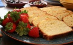 Did you know?  Pound cake, Mr. Modrak's favorite family recipe, is widely believed to have originated in the 1700s.