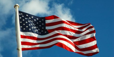 The American flag still stands tall as a staple symbol to represent our country.
