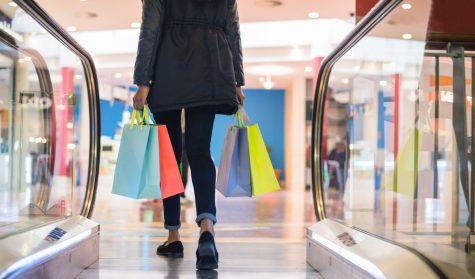 As online shopping becomes more popular and health guidelines urge people to stay home, many malls such as the Washington Crown Center are struggling to attract customers.