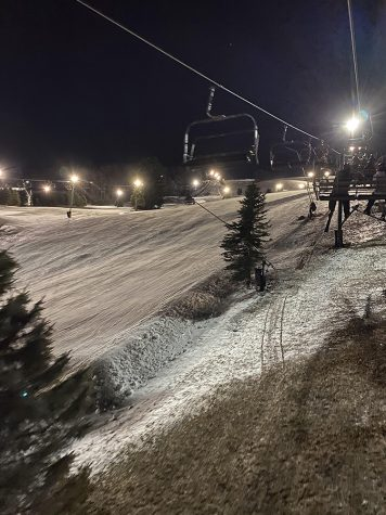 The picture above is one of the North Face slopes and lift at Seven Springs Mountain Resort.