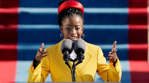 "Amanda Gorman, poet and activist, eloquently read her poem titled ""The Hill We Climb"" at the inaugural ceremony on January  20, calling for unity in the country."