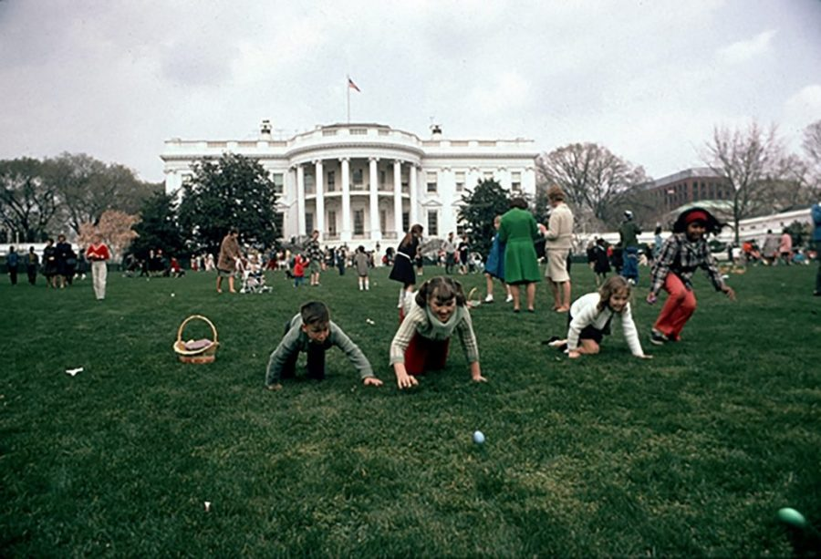 Children+from+all+over+the+country+participating+in+the+well-known+White+House+Easter+Egg+Roll%21