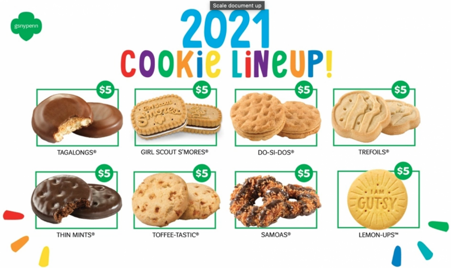 "2021 girl scout cookie lineup – ""badder"" up!"