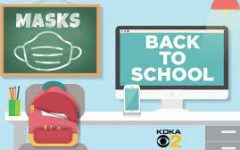 Though students started the year without masks, they have become a part of the morning checklist just as much as remembering to bring your backpack to school!