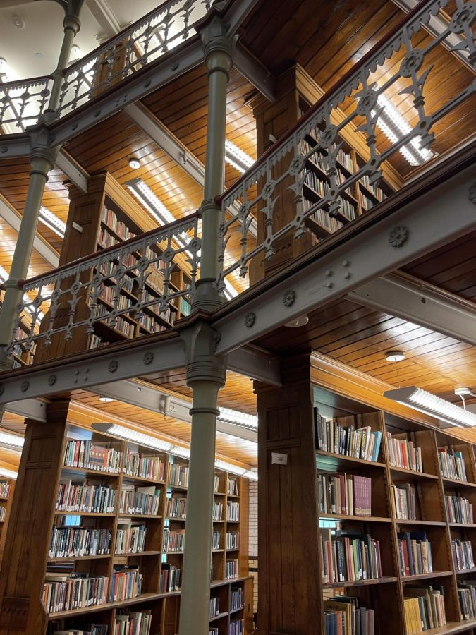 Students who pursue college will need to prepare themselves for another four years of academic work. Be ready to spend lots of time in the library, like the Linderman Library at Lehigh University.